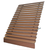 Americana Building Products 48-in Wide x 21-in Projection Brown Solid Open Slope Low Eave Window Awning