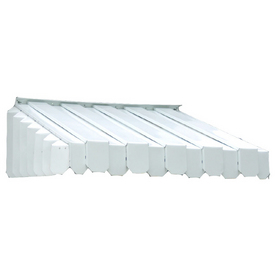 Americana Building Products 65-in Wide x 43-in Projection White Solid Slope Window/Door Awning