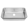 American Standard Prevoir 25.25-in x 38-in Radiant Silk Single-Basin Stainless Steel Undermount Residential Kitchen Sink