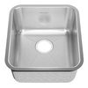 American Standard Prevoir 21.5-in x 22.5-in Radiant Silk Single-Basin Stainless Steel Undermount Kitchen Sink