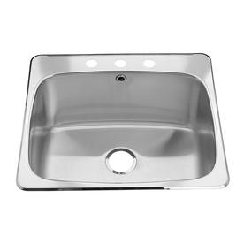 Stainless Steel Drop In Utility Sink : ... Standard Silk Drop-In Stainless Steel Utility Tub at Lowes.com