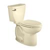 American Standard Cadet 3 Bone 1.6-GPF (6.06-LPF) 12-in Rough-in Elongated 2-Piece Comfort Height Toilet