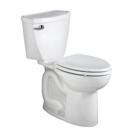 American Standard Cadet White 1.6-GPF (6.06-LPF) 12-in Rough-In Round 2-Piece Comfort Height Toilet