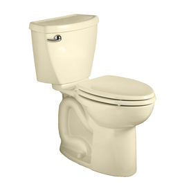 American Standard Cadet 3 Bone 1.6-GPF (6.06-LPF) 12-in Rough-in Round 2-Piece Comfort Height Toilet