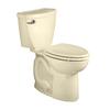 American Standard Cadet 3 Bone 1.28-GPF (4.85-LPF) 12-in Rough-in WaterSense Round 2-Piece Comfort Height Toilet