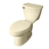 American Standard Cadet Linen 1.6-GPF (6.06-LPF) 12-in Rough-In Elongated 2-Piece Standard Height Toilet