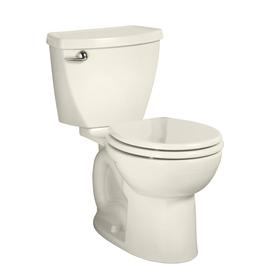 American Standard Cadet 3 Linen 1.28-GPF (4.85-LPF) 12-in Rough-in WaterSense Round 2-Piece Standard Height Toilet