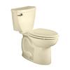 American Standard Cadet 3 Bone 1.6-GPF (6.06-LPF) 10-in Rough-in Elongated 2-Piece Comfort Height Toilet