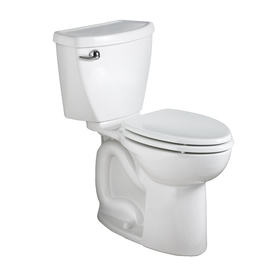 American Standard Cadet 3 White 1.6-GPF (6.06-LPF) 10-in Rough-in Round 2-Piece Comfort Height Toilet