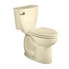 American Standard Cadet 3 Bone 1.6-GPF (6.06-LPF) 10-in Rough-in Round 2-Piece Comfort Height Toilet