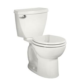 American Standard Cadet 3 White 1.6-GPF (6.06-LPF) 10-in Rough-in Round 2-Piece Standard Height Toilet