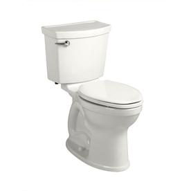American Standard Champion 4 White 1.28-GPF (4.85-LPF) 12-in Rough-in WaterSense Round 2-Piece Comfort Height Toilet
