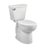 American Standard Saver White 1.28-GPF (4.85-LPF) 10-in Rough-In WaterSense Elongated 2-Piece Chair Height Toilet