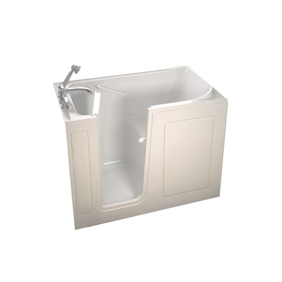 Shop American Standard Walk In Baths Linen Gelcoat Fiberglass Rectangular Wal