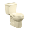 American Standard Colony Bone 1.6-GPF (6.06-LPF) 10-in Rough-in Round 2-Piece Standard Height Toilet