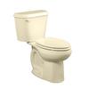 American Standard Colony Bone 1.6-GPF (6.06-LPF) 12-in Rough-in Elongated 2-Piece Comfort Height Toilet