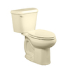 American Standard Colony Bone 1.6-GPF (6.06-LPF) 12-in Rough-in Elongated 2-Piece Standard Height Toilet