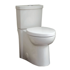 American Standard Clean White 1.6; 1.1-GPF 12-in Rough-In WaterSense Elongated Dual-Flush 2-Piece Comfort Height Toilet