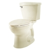American Standard Champion 4 Off-White 1.28-GPF (4.85-LPF) 12-in Rough-in WaterSense Elongated 2-Piece Comfort Height Toilet