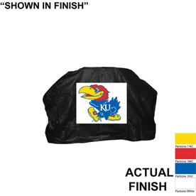 Seasonal Designs, Inc. Kansas Jayhawks Vinyl 68-in Grill Cover
