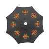 Seasonal Designs, Inc. 9-ft x 8-ft Iowa State Collegiate Market Umbrella