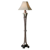 Global Direct 66-1/4-in Multicolor Floor Lamp with Tan Shade