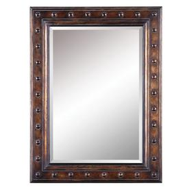 allen + roth 30-in x 40-in Bronze Beveled Rectangle Framed French Wall Mirror