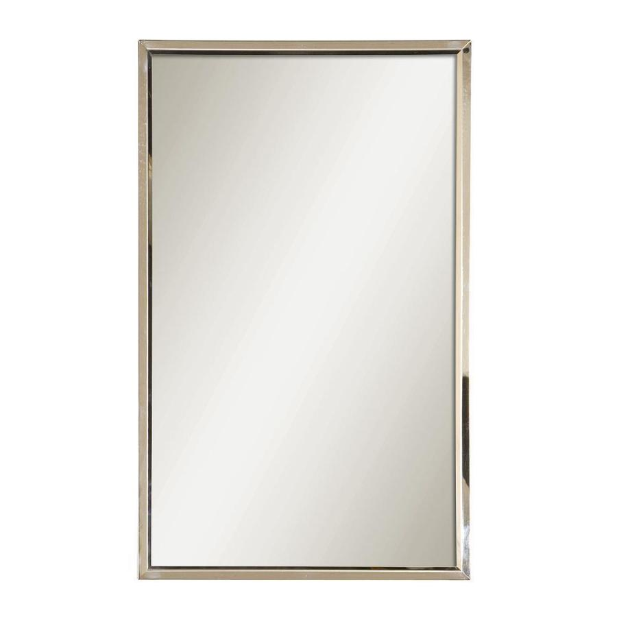 shop global direct 18 in x 30 in polished stainless steel