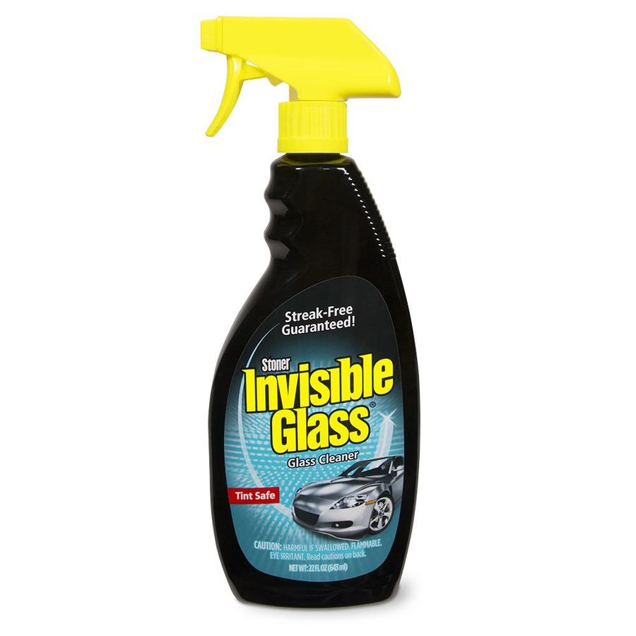 Shop invisible glass 22 fl oz glass cleaner at for Window cleaner