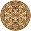 Rugs America New Vision Tabriz Cream Round Indoor Woven Area Rug (Actual: 5.25-ft Dia)