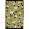 Rugs America 3-ft 6-in x 5-ft 6-in Matteo Moss Flores Area Rug
