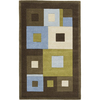 Rugs America 5-ft x 8-ft Sky Tribeca Tiles Area Rug
