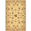 Rugs America New Vision 5-ft 3-in x 7-ft 10-in Rectangular Beige Floral Area Rug