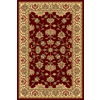 Rugs America New Vision 7-ft 10-in x 10-ft 10-in Rectangular Red Floral Area Rug