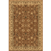 Rugs America New Vision Tabriz Brown Rectangular Indoor Woven Area Rug (Common: 8 x 10; Actual: 94-in W x 130-in L)