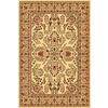 Rugs America New Vision Lilihan Cream Rectangular Indoor Woven Area Rug (Common: 8 x 10; Actual: 94-in W x 130-in L)