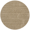Rugs America Vero Beach Round Brown Solid Woven Area Rug (Common: 6-ft x 6-ft; Actual: 6.5-ft x 6.5-ft)