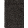 Rugs America Vero Beach 7-ft 10-in x 10-ft 10-in Rectangular Black Solid Area Rug