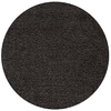 Rugs America Vero Beach 6-ft 6-in x 6-ft 6-in Round Black Solid Area Rug