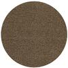 Rugs America Vero Beach Chocolate Round Indoor Woven Area Rug (Actual: 6.5-ft Dia)