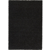 Rugs America Vero Beach 5-ft 3-in x 7-ft 6-in Rectangular Black Solid Area Rug