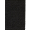 Rugs America Vero Beach 6-ft 6-in x 9-ft 6-in Rectangular Black Solid Area Rug