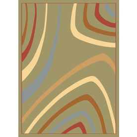 Rugs America Torino 7-ft 10-in x 10-ft 10-in Rectangular Gray Transitional Area Rug