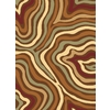 Rugs America Torino Rectangular Brown Transitional Woven Accent Rug (Common: 2-ft x 3-ft; Actual: 24-in x 35-in)