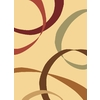 Rugs America Torino 5-ft 3-in x 7-ft 10-in Rectangular Beige Transitional Area Rug