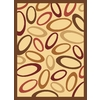 Rugs America Torino 24-in x 35-in Rectangular Beige Transitional Accent Rug
