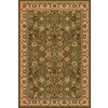Rugs America New Vision 9-ft 10-in x 13-ft 2-in Rectangular Green Floral Area Rug