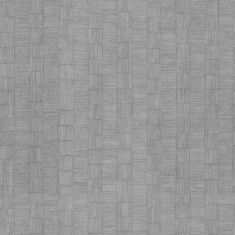 Shop allen roth gray fabric backed vinyl unpasted for Gray vinyl wallpaper
