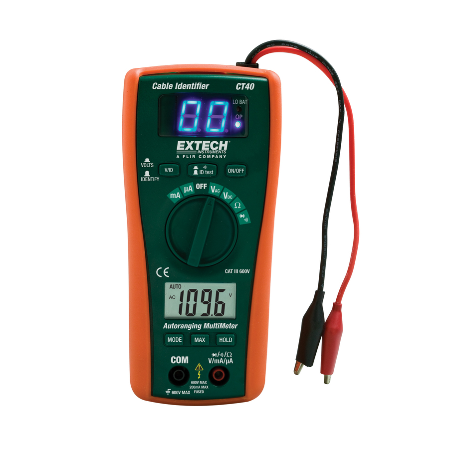 Electrical Multimeters At Lowe S : Shop extech digital multimeter at lowes