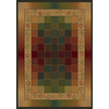 United Weavers Of America Genesis 5-ft 3-in x 7-ft 2-in Rectangular Tan Block Area Rug